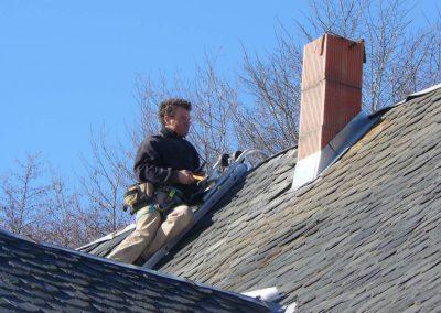Jo sur le toit