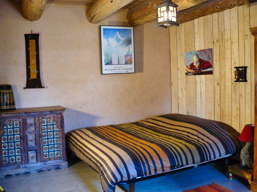 La chambre himalaya en formule prestige avec lit double
