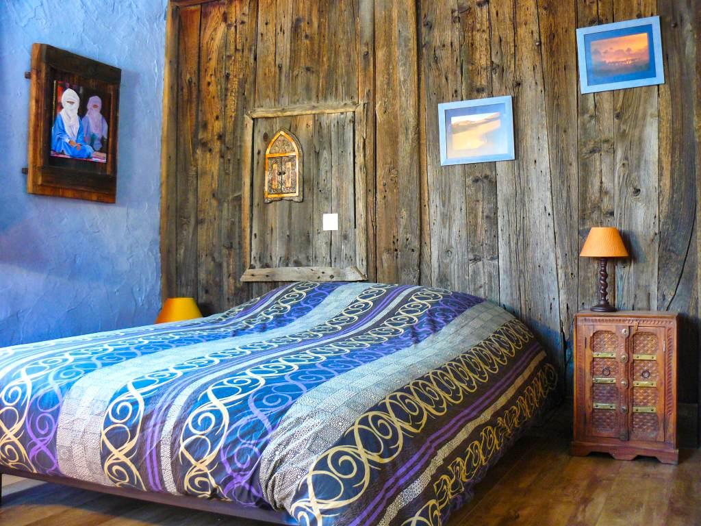 La chambre Kasbah avec un lit double en formule prestige