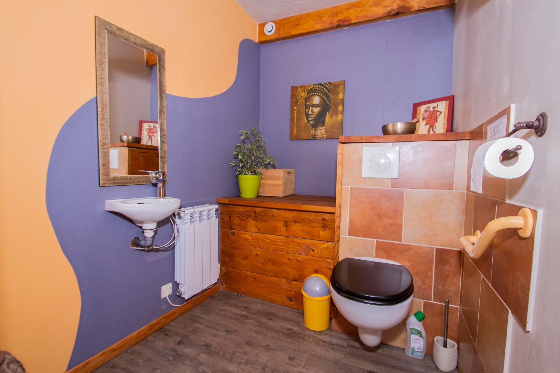 Les WC de la savanne